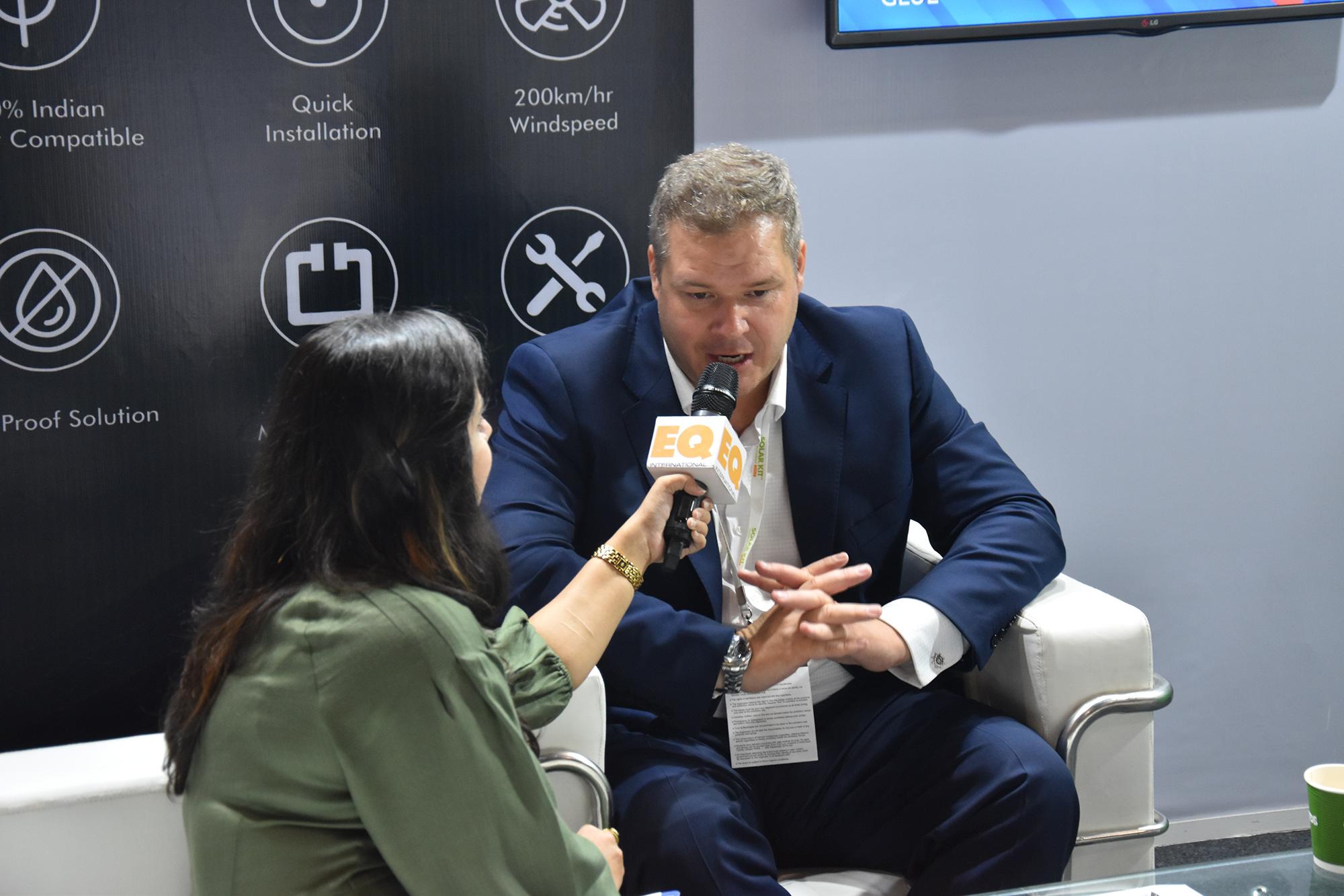 Interview EQ magazine with Tomas Korostensky in REI2019