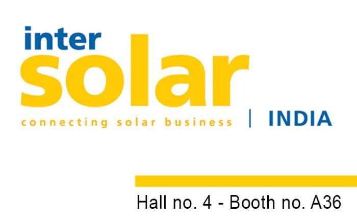 Invitation to exhibition Intersolar Bangalore 2019 - November