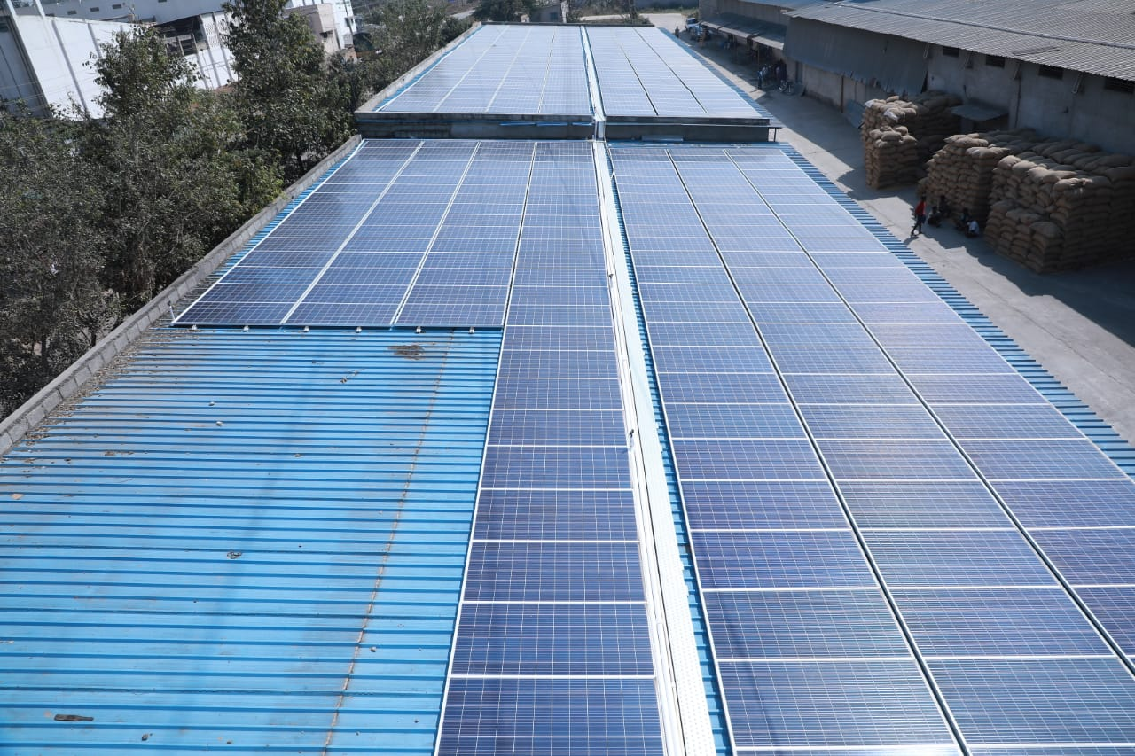 Solar-kit screw and glue solution for metal roofs by Indus Assist Pvt. Ltd.