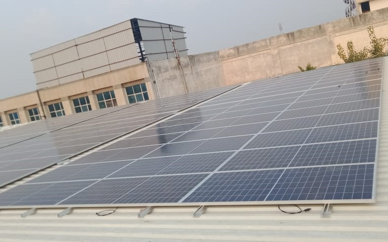 Solar-kit for metal roof in Haryana by Pinank Engineering - 330kw